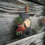 Whimsical Primitive Bear Doll - She..
