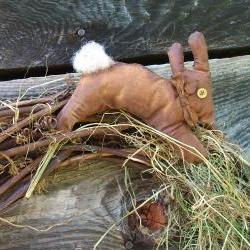 Extreme Primitive Bunny Plant Poke